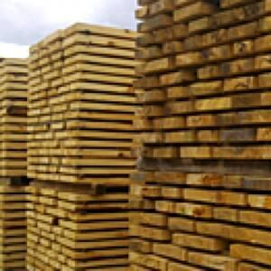 Дървени талпи